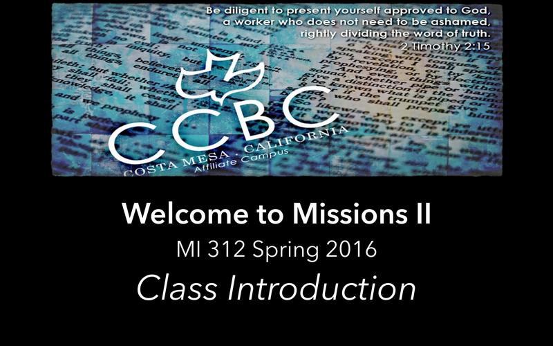 Class 1 Part 1